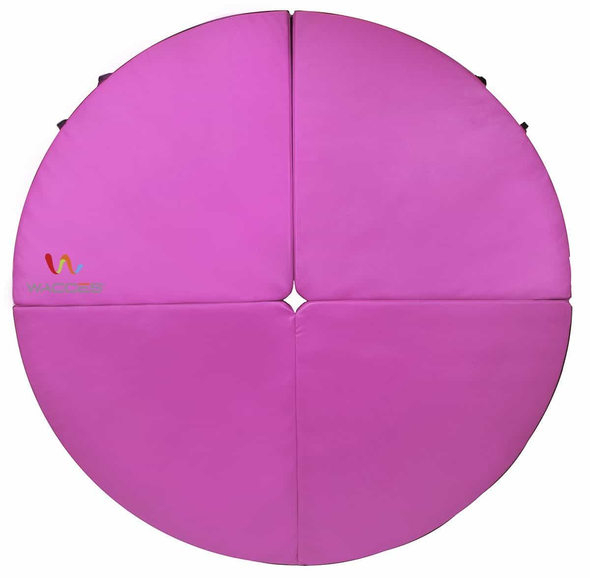 pink waccas pole mat review