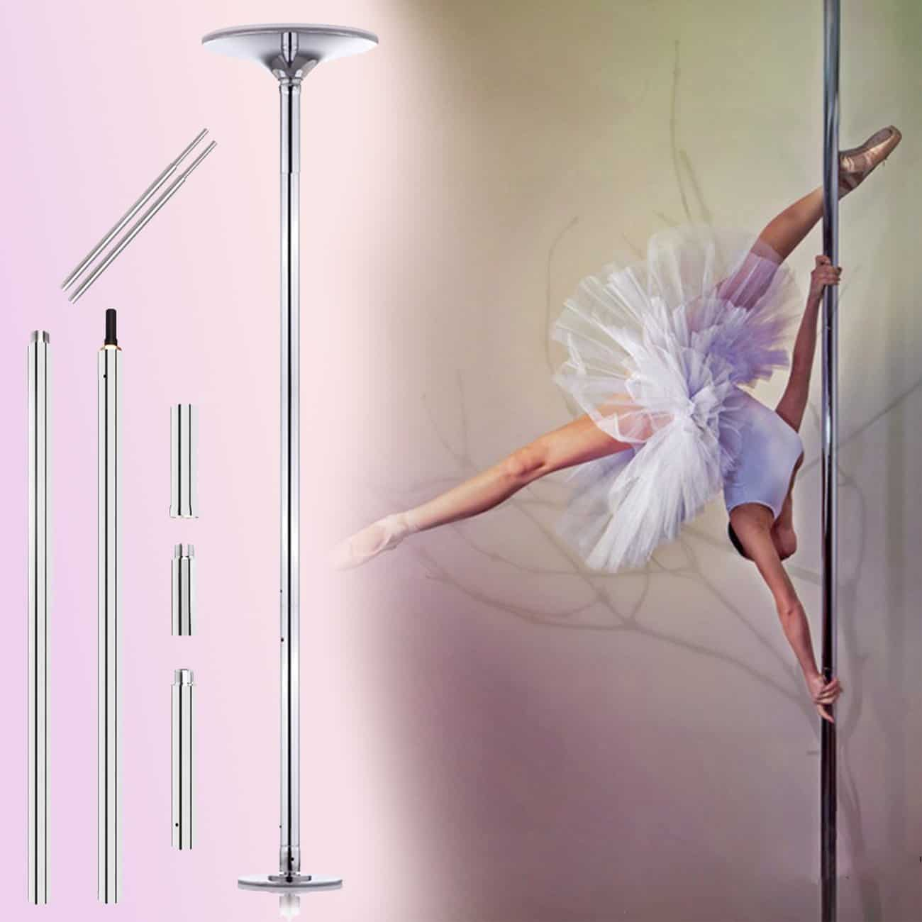 Ridgeyard 45mm dance pole review