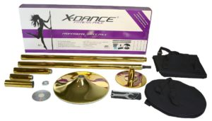 gold x dance pole review