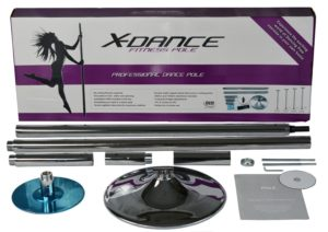 x dance chrome dance pole