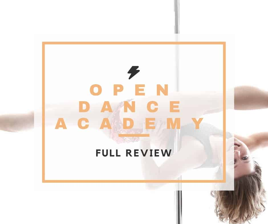 open dance academy pole dance course review