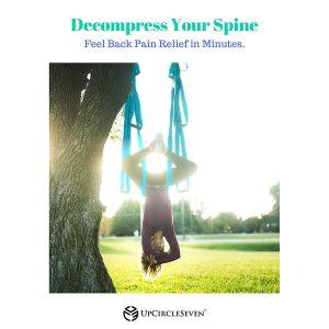 decompress spine aerial yoga trapeze