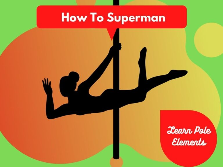 Superman Pose Pole Dance