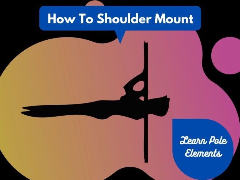 shoulder mount pole pose